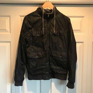 Obey jacket with hood